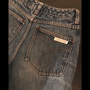 Vintage high waisted Calvin Klein jeans